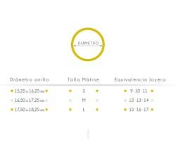 ANILLO AQUITANIA ·oro amarillo·